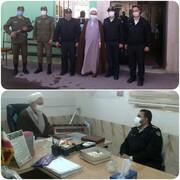 خداقوت امام جمعه قزوین به پرسنل نیروی انتظامی
