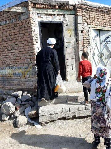 تصاویر شما/ فعالیت های جهادی طلاب و روحانیون مدرسه علمیه امام جعفرصادق(ع) اردبیل