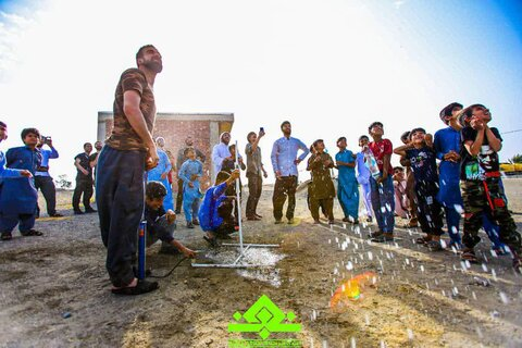تصاویر شما/ فعالیتهای فرهنگی طلاب گروه جهادی امیدگاه نجف در مناطق محروم کرمان