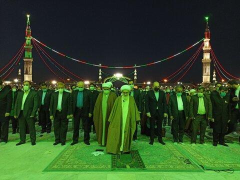 نماز جماعت مغرب و عشا به امامت آیت الله العظمی نوری همدانی