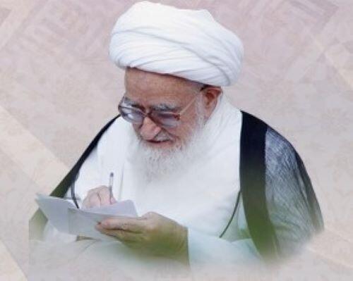 یادداشتی از آیت الله العظمی صافی گلپایگانی به مناسبت نیمه شعبان