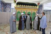بازدید رئیس سازمان اوقاف کشور از بقاع متبرکه مازندران