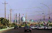 تصاویر / حال و هوای مسیر مسجد مقدس جمکران در روز نیمه شعبان