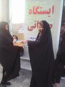 برگزاری ایستگاه های صلواتی و جشن های خانگی در شهر دلوار + تصاویر