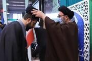 تصاویر / عمامه گذاری طلاب مدرسه علمیه صاحب الزمان(عج) شهرستان مرند