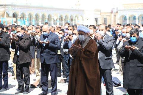 نماز جماعت ظهر و عصر مسجد جمکران