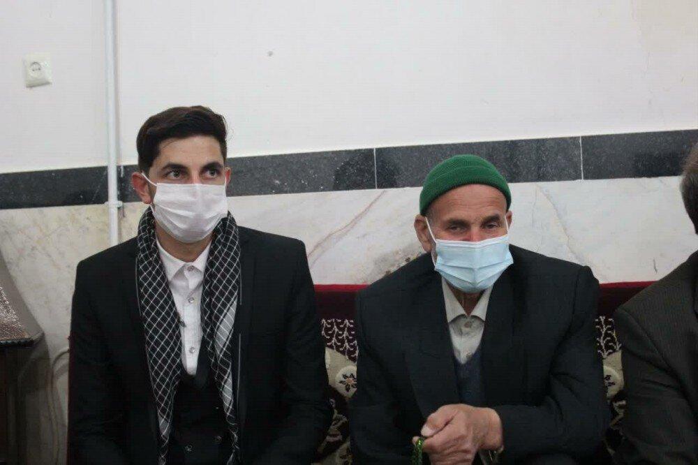 تصاویر/مراسم جشن نیمه شعبان در حسینیه شهر توپ آغاج بیجار