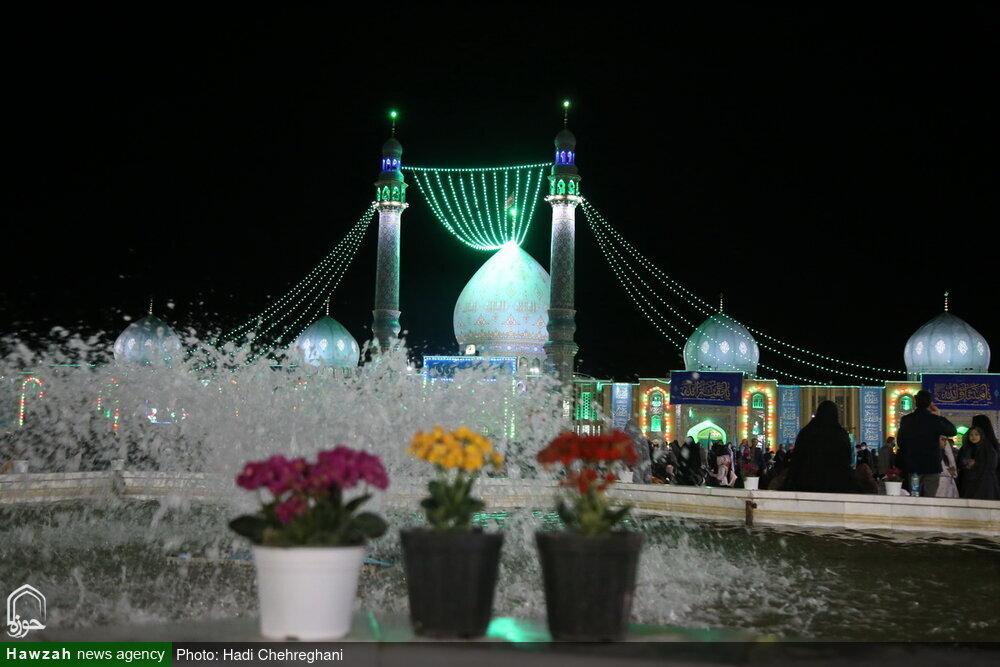 تصاویر/ شب نیمہ شعبان مسجد جمکران کے روح پرور مناظر