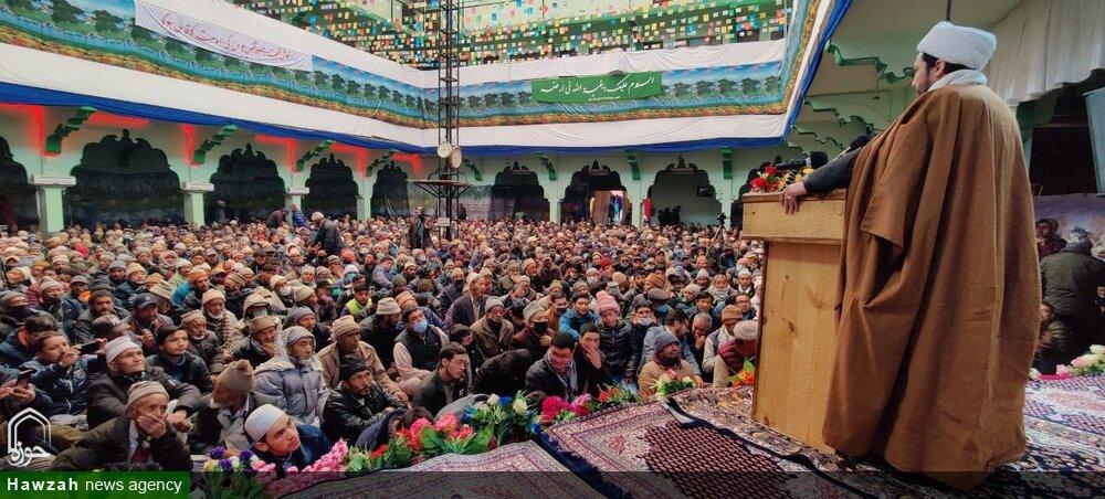 تصاویر/ کرگل میں جمعیت العلماء اثنا عشریہ کے زیر اہتمام جشن امام مہدی (عج) کا انعقاد