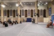 تصاویر/ دیدار اعضای ستاد برگزاری کنگره ملّی چهار هزار شهید استان یزد با رهبر معظم انقلاب