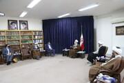 تصاویر / دیدارهای نوروزی با مدیر حوزه های علمیه