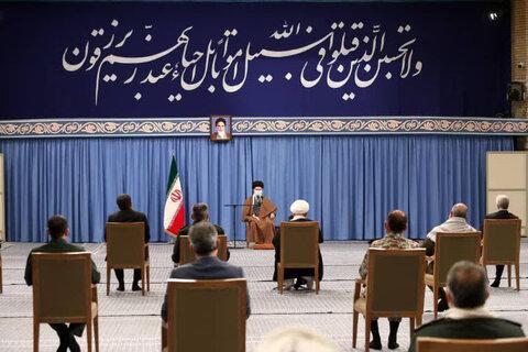 تصاویر/ دیدار برگزار کنندگان کنگره ملی شهدای یزد با رهبر معظم انقلاب