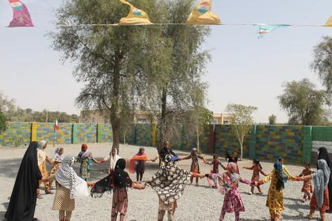 تصاویر شما/ فعالیت های فرهنگی گروه جهادی بنت الهدی در جنوب کرمان