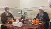 دیدار مدیر حوزه های علمیه با آیت الله ناصری در قم