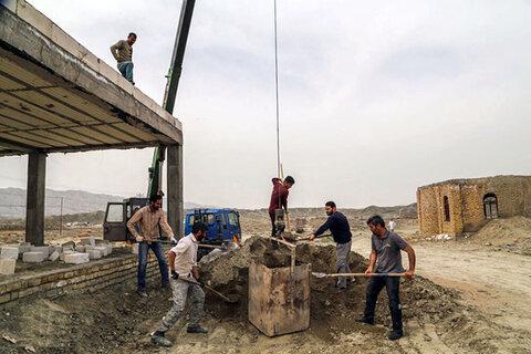 تصاویر/ اردوی جهادی طلاب خراسان شمالی در مناطق محروم
