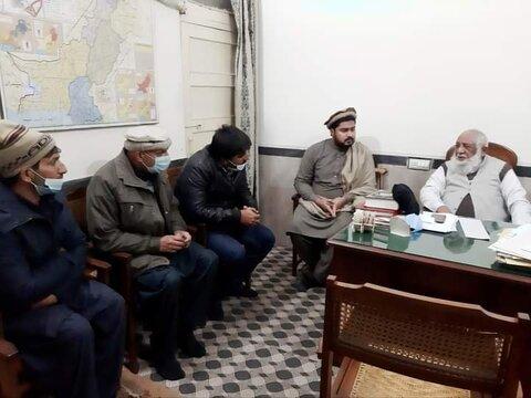 جامعۃ المنتظر لاہور میں قادیانیوں کے وفد نے اسلام قبول کیا
