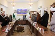تصاویر| دیدار مسئولان حوزه علمیه فارس با نماینده ولی فقیه در استان