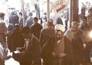 تصویری از تنها انتخاباتی که شهید مطهری در آن شرکت کرد