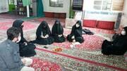 فعالیتهای جهادی طلاب حوزه علمیه خواهران بویین زهرا در شهرستان آوج