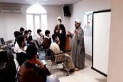 تصاویر/ کارگاه علمی پژوهشی در حوزه علمیه کرمانشاه