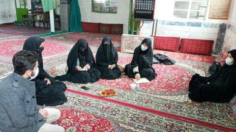 طلاب جهادی حوزه علمیه خواهران بویین زهرا قزوین