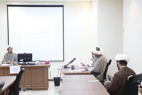 تصاویر / نشست علمی طلاب مستعد پژوهشگری در مدرسه علمیه حضرت ولیعصر (عج)