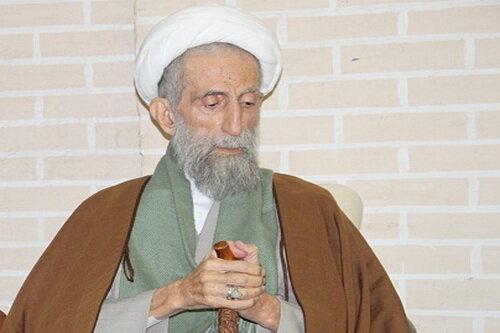 فیلم   پخش گزارش خبری از مرحوم آیت الله باریک بین از شبکه خبر