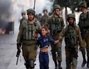 ایک سال میں 16000 سے زائد فلسطینی بچے صیہونی فوج کے ہاتھوں گرفتار