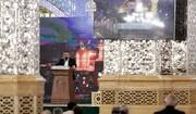 بزرگداشت نخستین سالگرد مرحوم حاج محمود اکبرزاده در حرم مطهر رضوی