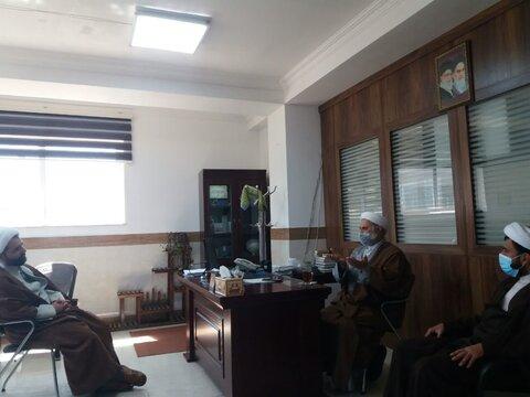 دیدار مسؤول بسیج طلاب با مدیر حوزه علمیه مازندران
