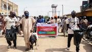 جوانان مسلمان نیجریه در عید پاک، به مسیحیان قوچ و نوشیدنی دادند