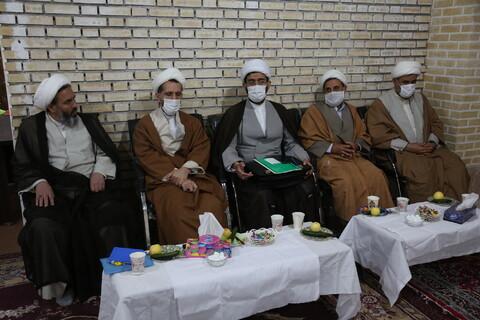 تصاویر/اولین نشست ائمه جماعات پردیسان در سال جدید