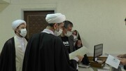 بازدید سرزده رئیس کل دادگستری استان خراسان شمالی از بخشهای دادگستری مرکز استان