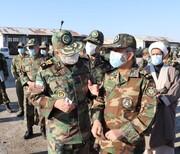بازدید امیر سرلشکر موسوی از یگانهای ارتش در استان زنجان