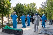 انتشار خاطرات طلاب جهادی فعال در تغسیل و تدفین اموات کرونایی