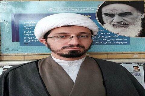 حجت الاسلام مقداد یعقوبی مدیر مدرسه علمیه حضرت باقرالعلوم(ع) سرپل ذهاب