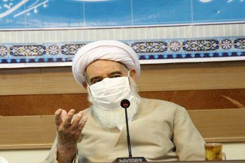 آیت الله علماء در دیدار فرماندهان نیروهای نظامی و انتظامی استان