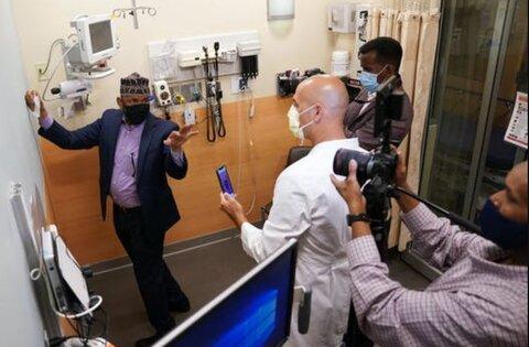 استیکرهای جدید جهت قبله برای بیماران مسلمان در بیمارستان مینهسوتا