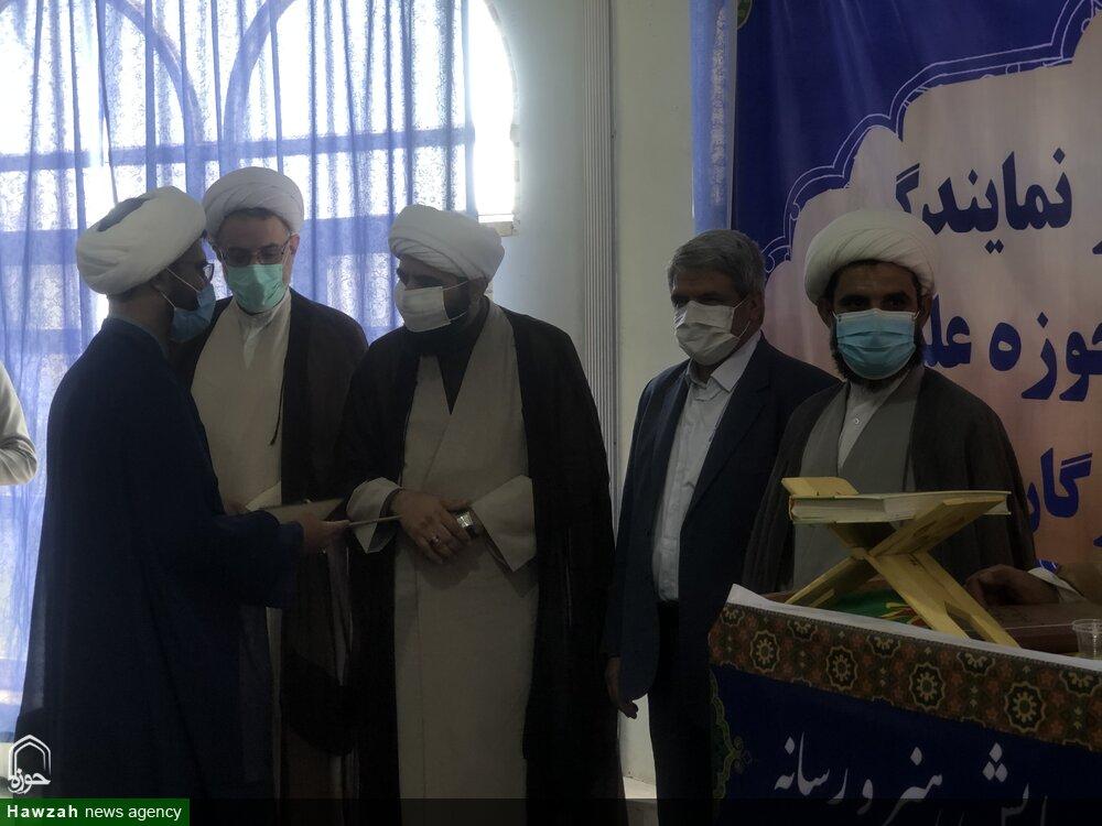 فیلم   انعکاس خبر افتتاح دفتر نمایندگی خبرگزاری حوزه در سیمای هرمزگان