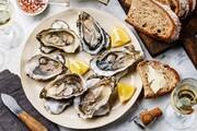 Eating the shell-bearing marine animals