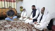 وفاق المدارس الشیعہ پاکستان کے ایک وفد کی علامہ شیخ نوروز مرحوم کے گھر آمد و  اظہار تعزیت