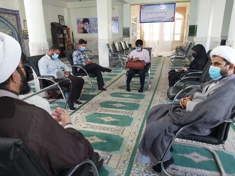 تصاویر/ نشست خبری مسول مرکز رسانه و فضای مجازی حوزه علمیه با رسانه های استان هرمزگان
