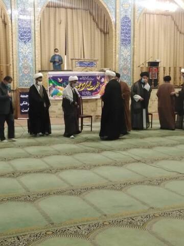 تصاویر/ مراسم عمامه گذاری طلاب مدرسه علمیه المهدی (عج) مسجدسلیمان