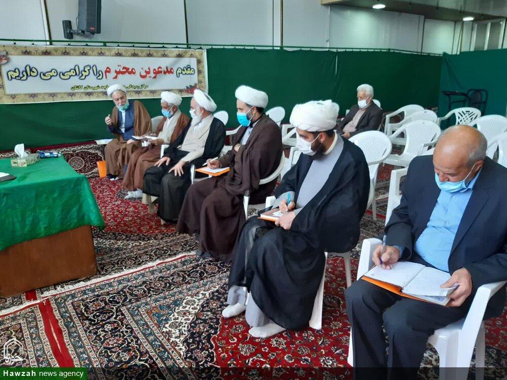 تصاویر/ گردهمایی نمایندگان ائمه جماعات منطقه کاشان با حضور نماینده ولی فقیه