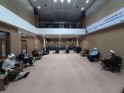 نخستین جلسه شورای هماهنگی نهادهای حوزوی خوزستان در سال جدید برگزار شد+عکس