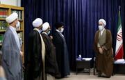 تصاویر/ دیدار جمعی از نمایندگان مجلس شورای اسلامی با آیت الله اعرافی