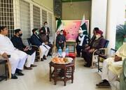 رئیس جمعیت علمای پاکستان: پاکستان و ایران سنگرهای اسلام هستند
