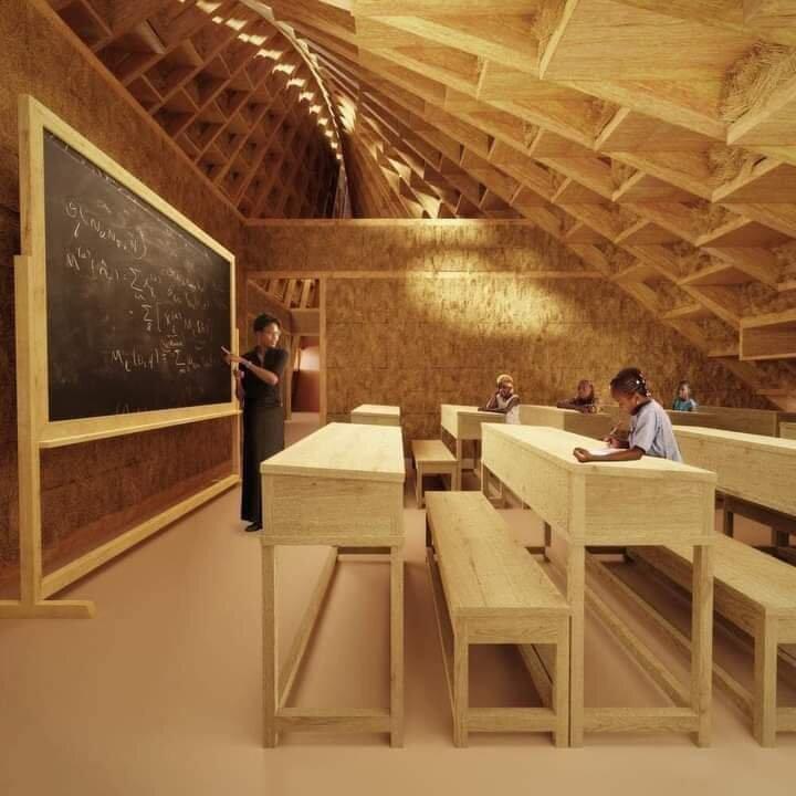 افتتاح مدرسه قرآنی با معماری متفاوت در مالاوی +تصاویر