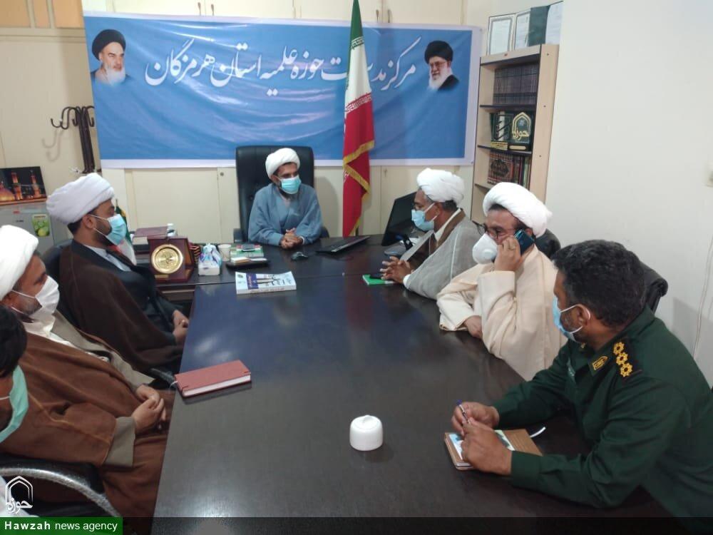 تصاویر/ دیدار مسئول بسیج طلاب و روحانیون هرمزگان با مدیر حوزه علمیه استان