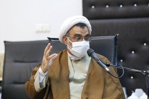 تصاویر / دیدار رئیس دانشگاه آزاد با تولیت حرم کریمه اهل بیت (ع)